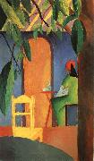 August Macke Turkish Cafe II oil painting picture wholesale