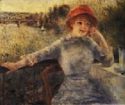 Auguste renoir Alphonsine Fournaise oil painting picture wholesale