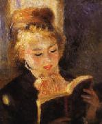 Auguste renoir Woman Reading oil painting picture wholesale