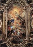 BACCHIACCA Apotheosis of the Franciscan Order  ff oil