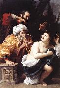 BADALOCCHIO, Sisto Susanna and the Elders  ggg oil