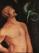 BALDUNG GRIEN, Hans Adam (detail) oil painting