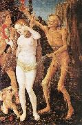 BALDUNG GRIEN, Hans Three Ages of the Woman and the Death  rt4 oil painting picture wholesale