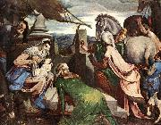 BASSANO, Jacopo The Three Magi ww oil painting artist