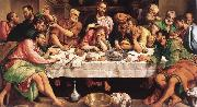 BASSANO, Jacopo The Last Supper ugkhk oil painting picture wholesale