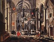BASSEN, Bartholomeus van The Tomb of William the Silent in an Imaginary Church oil painting picture wholesale