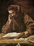 BASSETTI, Marcantonio St Antony Reading 21 oil painting