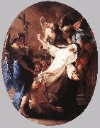 BATONI, Pompeo The Ecstasy of St Catherine of Siena oil painting picture wholesale