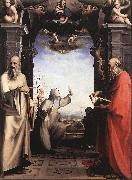 BECCAFUMI, Domenico Stigmatization of St Catherine of Siena oil