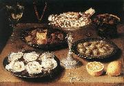 BEERT, Osias Still-Life with Oysters and Pastries oil painting picture wholesale