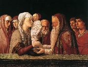 BELLINI, Giovanni Presentation at the Temple  yrfuy oil painting picture wholesale