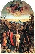 BELLINI, Giovanni Baptism of Christ ena oil painting picture wholesale