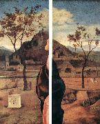 BELLINI, Giovanni Madonna and Child Blessing (details) oil painting picture wholesale