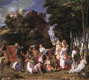 BELLINI, Giovanni The Feast of the Gods oil painting picture wholesale
