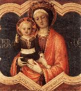 BELLINI, Jacopo Madonna and Child fgf oil