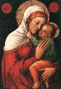 BELLINI, Jacopo Madonna with Child fh oil