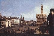 BELLOTTO, Bernardo The Piazza della Signoria in Florence oil painting picture wholesale