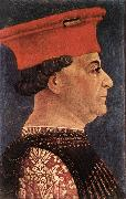 BEMBO, Bonifazio Portrait of Francesco Sforza oil
