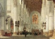 BERCKHEYDE, Job Adriaensz Interior of the St Bavo Church at Haarlem fs oil painting artist