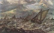 BEYEREN, Abraham van Rough Sea gfhg oil painting picture wholesale