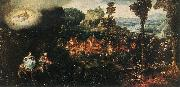 BLES, Herri met de The Flight into Egypt cghg oil