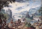 BOL, Hans Landscape with the Fall of Icarus d oil painting picture wholesale