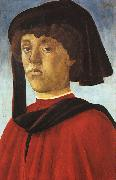 BOTTICELLI, Sandro Portrait of a Young Man fddg oil painting picture wholesale