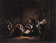 BRAMER, Leonaert The Adoration of the Magi dfkii oil painting