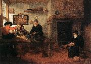 BREKELENKAM, Quiringh van Interior of a Tailor s Shop oil painting picture wholesale