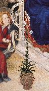 BROEDERLAM, Melchior The Annunciation (detail)  ff oil painting picture wholesale