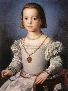 BRONZINO, Agnolo Bia, The Illegitimate Daughter of Cosimo I de  Medici oil painting picture wholesale