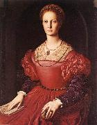 BRONZINO, Agnolo Portrait of Lucrezia Panciatichi fg oil painting picture wholesale