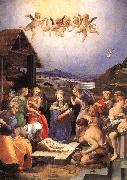 BRONZINO, Agnolo Adoration of the Shepherds sdf Germany oil painting reproduction