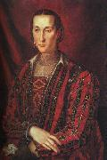 BRONZINO, Agnolo Portrait of Eleanora di Toledo oil painting artist