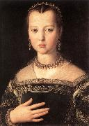 BRONZINO, Agnolo Portrait of Maria de Medici oil painting picture wholesale