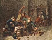 BROUWER, Adriaen Brawling Peasants oil painting picture wholesale