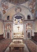 BRUNELLESCHI, Filippo Old Sacristy fd oil painting artist