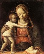 BUTINONE, Bernardino Jacopi Madonna and Child fdg oil