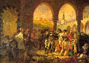 Baron Antoine-Jean Gros Napolean at Jaffa oil painting artist