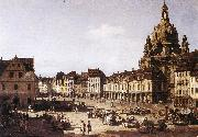 Bernardo Bellotto New Market oil painting artist