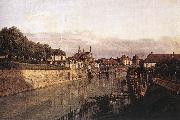 Bernardo Bellotto Zwinger Waterway oil painting artist