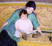 Bernhard Gutmann Mother and Baby Elizabeth oil painting artist