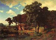 Bierstadt, Albert A Rustic Mill oil painting picture wholesale