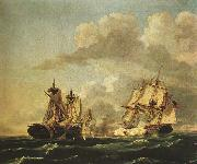 Birch, Thomas Naval Battle Between the United States and the Macedonian on Oct. 30, 1812, oil painting picture wholesale