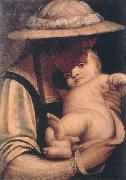 CAMBIASO, Luca Virgin and Child gfh oil painting
