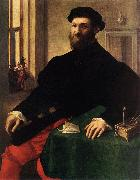 CAMPI, Giulio Portrait of a Man  iey oil