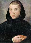 CAROTO, Giovanni Francesco Portrait of a Young Benedictine g oil painting picture wholesale
