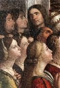 CARPACCIO, Vittore Apotheosis of St Ursula (detail) fdh Germany oil painting reproduction