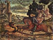 CARPACCIO, Vittore St George and the Dragon (detail) dfg oil painting picture wholesale