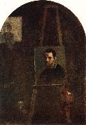 CARRACCI, Annibale Self-portrait dfg oil painting picture wholesale